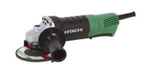 Hitachi G12SQ Paddle Switch Angle Grinder