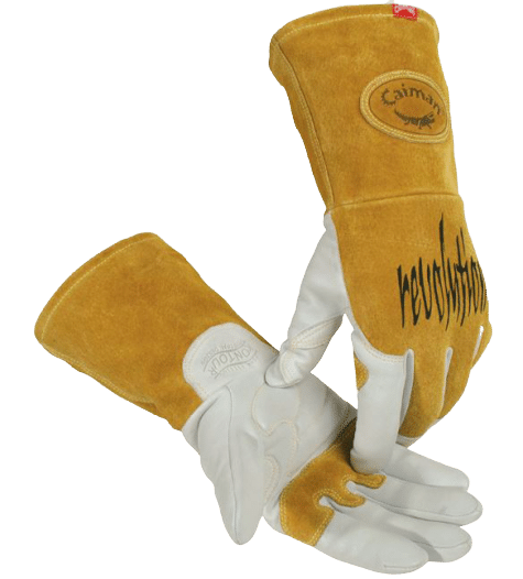 Caiman Goatskin TIG Welding Glove