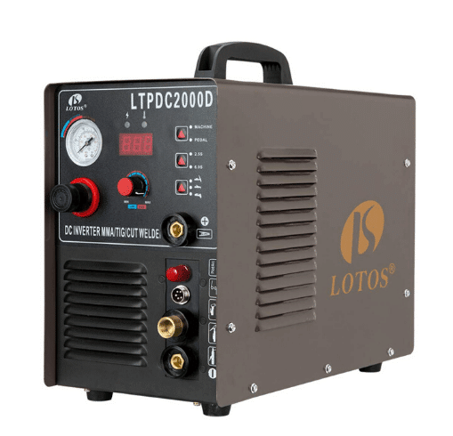 Lotos LTPDC2000D 3-in-1 Stick Welder