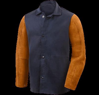Steiner Weldlite Plus Navy Cotton Welding Jacket