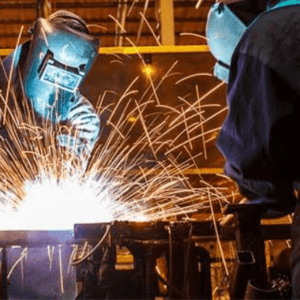 An exposure to IR and UV Radiation during welding