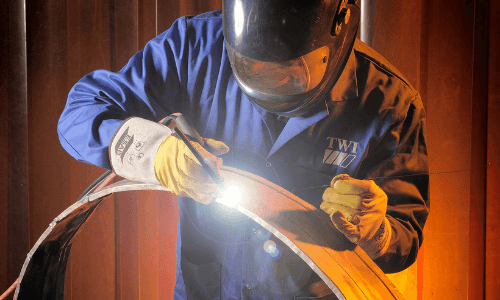 Welders will have more control over the heat produced through the TIG welder